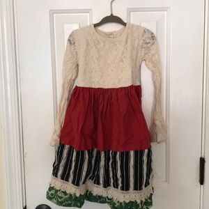 Persnickety Christmas dress